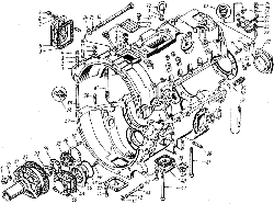 ЯМЗ 7601.10 Картер коробки передач