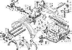 ЯМЗ 7601.10 Механизм переключения передач