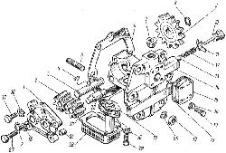 ЯМЗ 7601.10 Картер демультипликатора