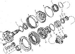 ЯМЗ 7601.10 Управление механизмом переключения демультипликатора
