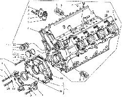 ЯМЗ 8421.10 Блок цилиндров