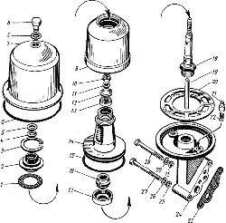 ЯМЗ 8421.10 Фильтр центробежной очистки масла