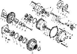 ЯМЗ 8421.10 Привод агрегатов
