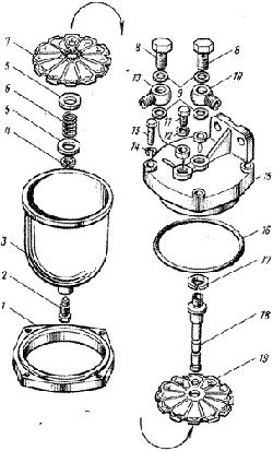 ЯМЗ 8421.10 Фильтр грубой очистки топлива