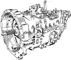 ЯМЗ 8421.10 Коробка передач