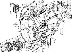 ЯМЗ 8421.10 Картер коробки передач