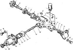 ЯМЗ 8421.10 Воздухораспределитель управления механизма переключения передач