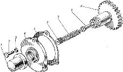ЯМЗ 8421.10 Механизм поворота коленчатого вала