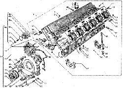 ЯМЗ 8424.10 Блок цилиндров