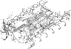 ЯМЗ 8424.10 Привод агрегатов