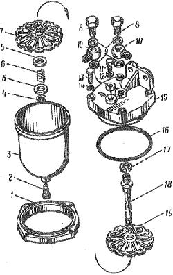 ЯМЗ 8424.10 Топливный трубопроводы