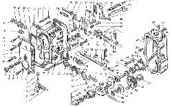 ЯМЗ 8424.10 Привод управления регулятором
