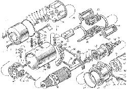 ЯМЗ 8424.10 Гидромуфта привода вентилятора