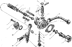 ЯМЗ 8424.10 Механизм переключения передач