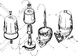 ЯМЗ 850.10 Фильтр центробежной очистки масла