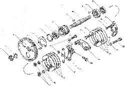 ЯМЗ 850.10 Привод агрегатов