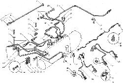 ЯМЗ 850.10 Топливные трубопроводы