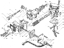 ЯМЗ 850.10 Секция топливного насоса высокого давления