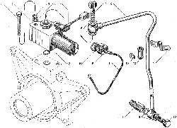 ЯМЗ 850.10 Натяжное приспособление ремня привода генератора