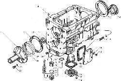 ЯМЗ 850.10 Заслонка аварийного останова двигателя