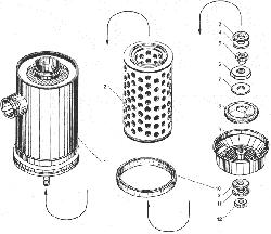 ЯМЗ 238БЕ Воздушный фильтр