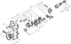 ЯМЗ 238БЕ Корпус регулятора чстоты вращения