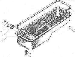 ЯМЗ 238БЕ Картер масляный для автомобилей МАЗ