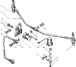 ЯМЗ 238БЕ2 Электрофакельное устройство