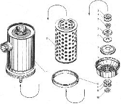 ЯМЗ 238БЕ2 Воздушный фильтр
