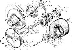 ЯМЗ 238БЕ2 Турбокомпрессор