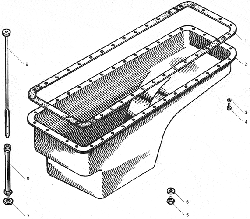 ЯМЗ 238БЕ2 Картер масляный для автомобилей КрАЗ