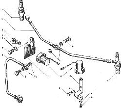 ЯМЗ 238ДЕ Электрофакельное устройство