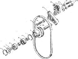 ЯМЗ 238ДЕ Устройство натяжное ремня привода водяного насоса