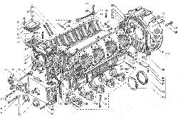 ЯМЗ 238ДЕ-11 Блок цилиндров