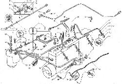 ЯМЗ 238ДЕ-11 Трубопроводы топливные