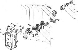ЯМЗ 238ДЕ-11 Корпус регулятора чстоты вращения
