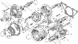 ЯМЗ 238ДЕ-11 Привод вентилятора