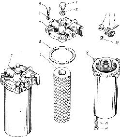 ЯМЗ 238 АМ Фильтр грубой очистки топлива