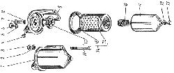 ЯМЗ 238 АМ Фильтр тонкой очистки топлива
