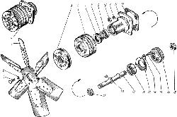 ЯМЗ 238 АМ Вентилятор