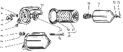 Фильтр тонкой очистки топлива ЯМЗ 238 ГМ