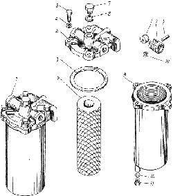 ЯМЗ 238 ИМ Фильтр грубой очистки топлива