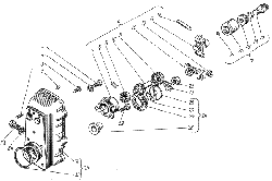 ЯМЗ 238 НД Корпус регулятора частоты вращения