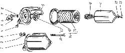 ЯМЗ 238 НД Фильтр тонкой очистки топлива