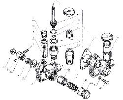 ЯМЗ 238 Б Впускной трубопровод