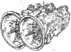 ЯМЗ 238 Б Коробка передач