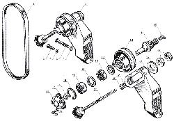 ЯМЗ 238 Б Натяжное устройство