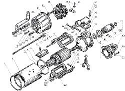 ЯМЗ 238 Б Стартер СТ-25