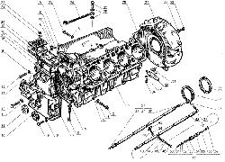 ЯМЗ 238 Д Блок цилиндров