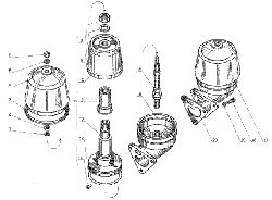 ЯМЗ 238 Д Фильтр центробежной очистки масла